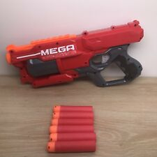 Nerf Mega Cycloneshock Red With Darts Ammo