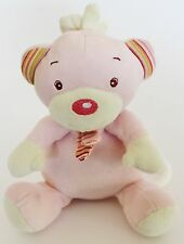 "♥ paradise toys Spieluhr rosa Bär Melodie ""somewhere over the rainbow"" LIDL ♥"