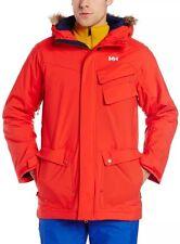 NWT Helly Hansen Men's Republic Jacket Size Medium Alert Red