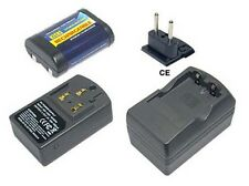 Powersmart Batteria Caricabatteria per Pentax Afl-240r Afl-320 Z-1