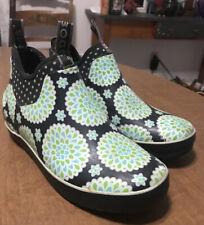 Bogs Mattie Dahlia Rubber Ankle Boots Sz 6 M