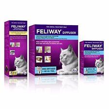 Feliway Genuine Diffuser Set, Additional 48mL Refill & 60mL Feliway Spray