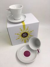 Nescafé Dolce Gusto 50ml  Espresso Coffee Cup & Saucers Set of 2