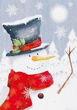 12 sheet sample pack of Hunkydory's Little Book of Snowmen - Set 7
