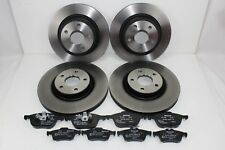 Original Brake Discs + Brake Pads Front+Rear Ford C - Max 59994400