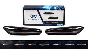 Dynamische LED Seitenblinker Blinker für BMW E90 E91 E92 E60 E87 E82 E46 SB24