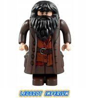 LEGO Minifigure - Hagrid dark brown - Harry Potter hp111 FREE POST