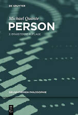 NEW Person (Grundthemen Philosophie) (German Edition) by Michael Quante