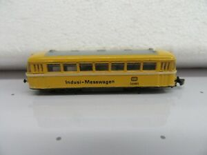 "Z Scale Marklin 88021 Powered Track Cleaning Car ""Indusi Messwagen"""