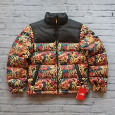 New 1992 North Face Nuptse Jacket Novelty 700 Down Urban Explore Leopard 1