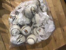 13 Easton Softballs ~New~ Practice Balls~ Soft Stitch~*Used Nike bag Included!