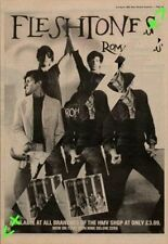 Fleshtones Roman Gods Advert NME Cutting 1982
