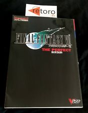 GUIA GUIDEBOOK Final Fantasy 7 VII The Perfect Strategy Guide V Jump Books JAP