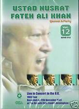NUSRAT FATEH ALI KHAN VOL 12 - LIVE IN BIRMINGHAM (1983)