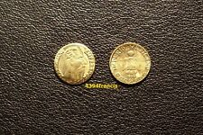 mini Peso OR GE Emperador Maximiliano Gold 1865 Mexico