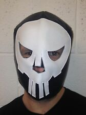 Lucha Libre Mexicana De Lucha Libre Máscara Fancy Dress Punisher Cross Bones Halloween