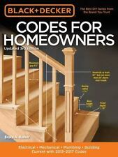 Black & Decker Codes for Homeowners, Updated 3rd Edition: Electrical --ExLibrary