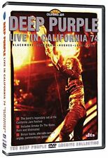 DEEP PURPLE : LIVE IN CALIFORNIA 1974 -  DVD - UK Compatible -sealed