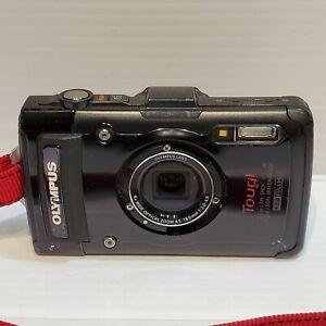 Olympus Tough TG-2 Waterproof Digital Camera (Black) - Missing Decoration Ring
