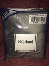 McLeland Design Silky Plush Dual Heated Electric Throw Blanket- Color: Grey