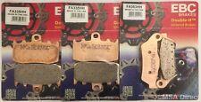 BMW R1200RT (2005 to 2013) EBC Sintered FRONT and REAR Disc Brake Pads (3 Sets)