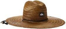 Quiksilver Men's Pierside Straw Sun Hat Dark Brown Large/X-Large