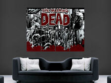 THE WALKING DEAD DAY ZOMBIES TV HUGE GIANT   ART IMAGE  LARGE WALL POSTER