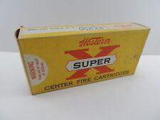 Vintage Western Super X 22-250 Ptd Soft Point 55 Gr. Empty Box 22501