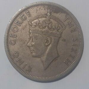 Southern Rhodesia Half a Crown - King George the Sixth - 1952 - Circulated CuNi