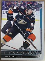 2018-19  UPPER DECK Serie 2, # 487 Sam STEEL, YOUNG GUNS, Ducks