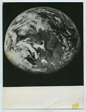 Earth Photographed From Space 1960s Press Photo
