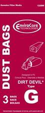 3 Vacuum Paper Bags, Royal G Hand 122Sw