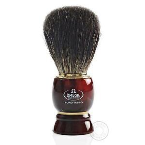 Omega 63185 Pure Badger Hair Shaving Brush
