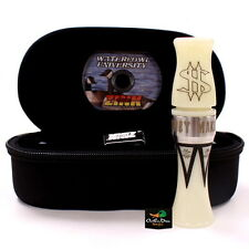 ZINK CALLS MONEY MAKER IVORY WHITE ACRYLIC COMPETETION CANADA GOOSE CALL