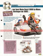 MOTO GUZZI 1000 Le MANS + Side Car BERANGER 1985 Joe Bar Team Fiche Moto #005237