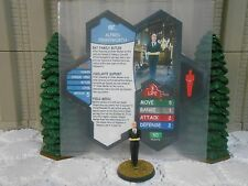 Heroscape Custom Alfred Pennyworth Double Sided Card & Figure w/ Sleeve DC