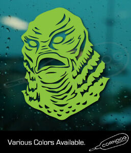Creature From The Black Lagoon STICKER VINYL DECAL HORROR MOVIE MONSTER