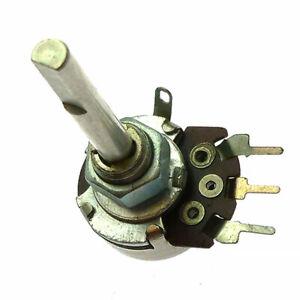 10K Logarithmic mono D:4mm long shaft Potentiometer