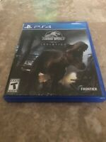 Jurassic World Evolution - PlayStation 4 PS4 Fast Free Shipping.