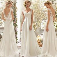 Hochzeitskleid Brautkleid Kleid Braut Ballkleid Abendkleid weiß creme NEU BC275