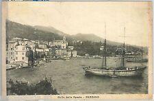 60401  - CARTOLINA d'Epoca - LA SPEZIA provincia -  FEZZANO Porto Venere  1926