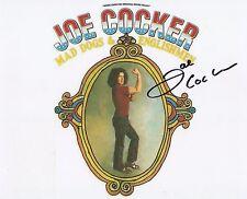 Joe Cocker signed photo in person w/COA