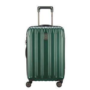 Delsey Chromium Lite Expandable Carry-On Hardside Spinner Emerald Green