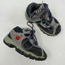 Kids Timberland Leather Lace Up Hiking Boots Babys Size US 6 Medium 85802