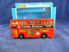 "MATCHBOX SUPERKINGS K-15 THE LONDONER BUS "" The London Dungeon """