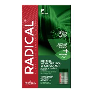 FARMONA RADICAL ANTI HAIR LOSS Strengthening TREATMENT - 15 AMPOULES RAL0003