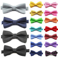 Boys Kids Bow Tie Children Toddler Dot Necktie Wedding Prom Tuxedo Party Bowtie