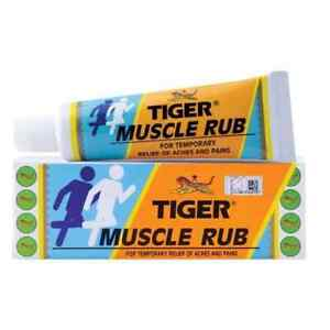 Tiger Balm Muscle Rub Topical Analgesic Cream 5 pack x 60 g (300g) Free Shipping