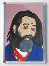 John Wayne Gacy Brand New Large Fridge Magnet #5 Painting of Charles Manson