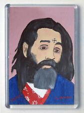 John Wayne Gacy Brand New Large Fridge Magnet #5 Painting of Charles Manson